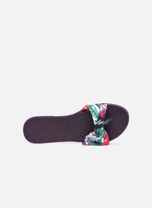 Chanclas Havaianas You Saint Tropez Violeta      vista lateral izquierda