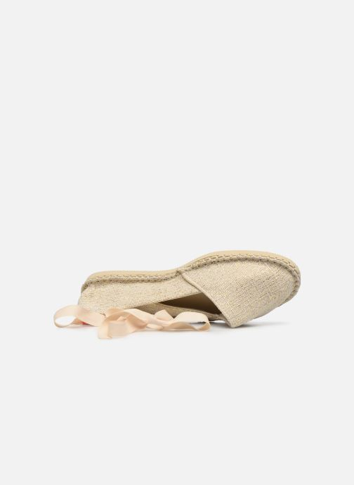Scarpe di corda Havaianas Origine Slim Shine Beige immagine sinistra
