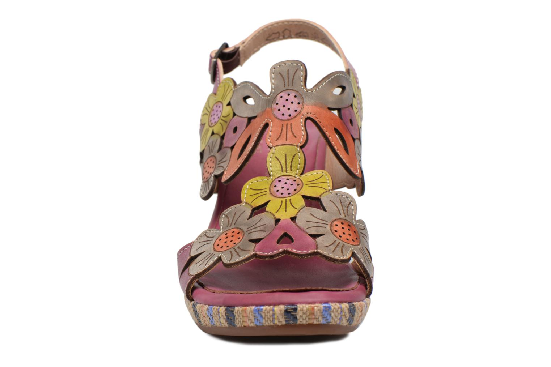 Sandales et nu-pieds Laura Vita Belfort91 Multicolore vue portées chaussures