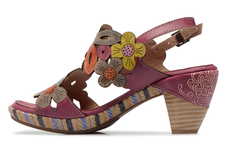 Sandales et nu-pieds Laura Vita Belfort91 Multicolore vue face