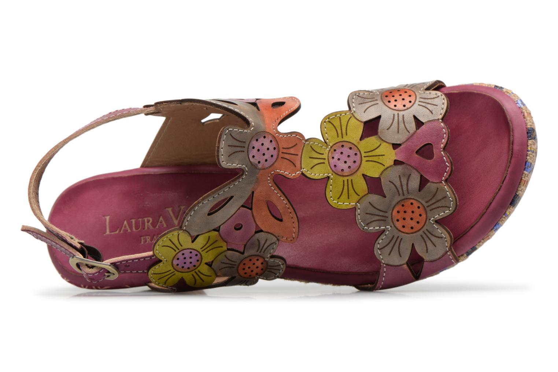 Sandales et nu-pieds Laura Vita Belfort91 Multicolore vue gauche