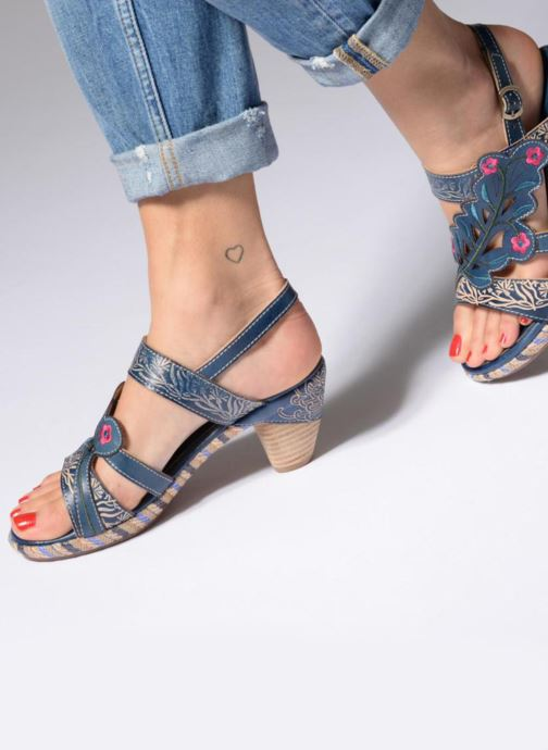 Sandali e scarpe aperte Laura Vita Belfort87 Multicolore immagine dal basso