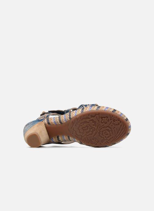 Sandales et nu-pieds Laura Vita Belfort87 Multicolore vue haut