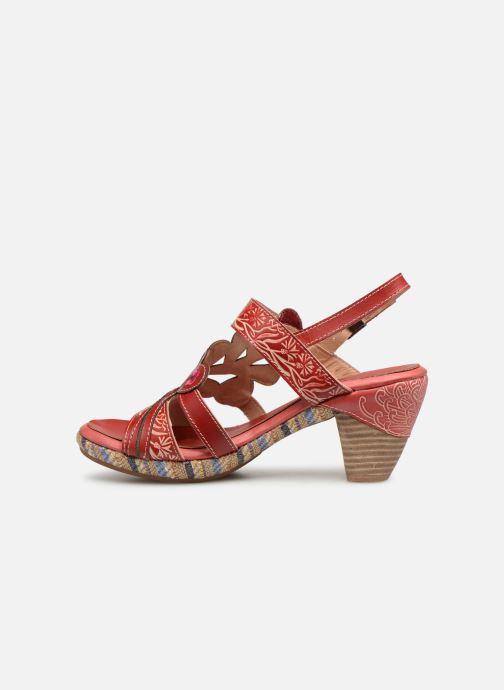 Sandales et nu-pieds Laura Vita Belfort87 Rouge vue face