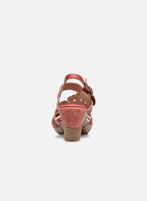 Sandales et nu-pieds Laura Vita Belfort87 Rouge vue droite