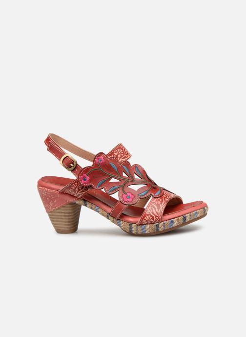 Sandales et nu-pieds Laura Vita Belfort87 Rouge vue derrière