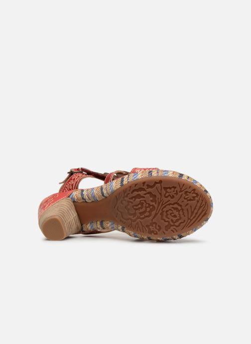 Sandales et nu-pieds Laura Vita Belfort87 Rouge vue haut
