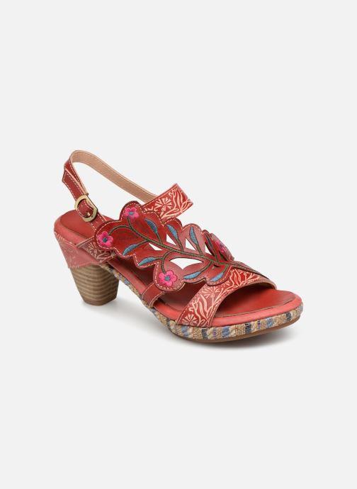 Sandales et nu-pieds Laura Vita Belfort87 Rouge vue détail/paire