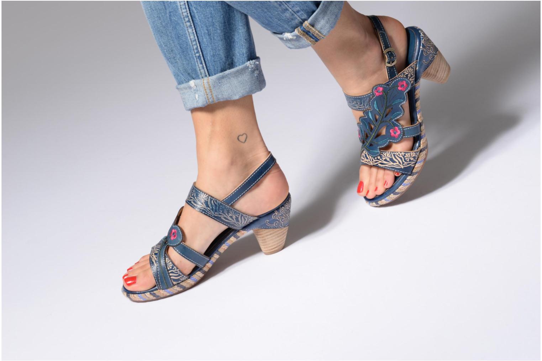 Sandales et nu-pieds Laura Vita Belfort87 Multicolore vue bas / vue portée sac
