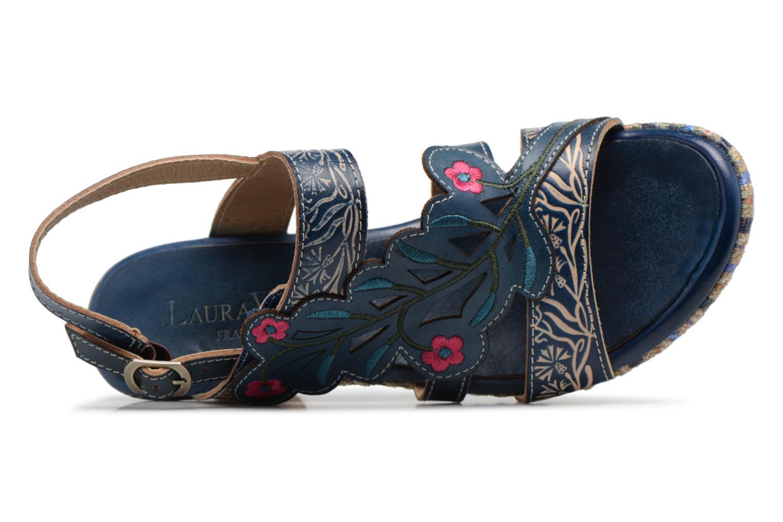 Sandales et nu-pieds Laura Vita Belfort87 Multicolore vue gauche