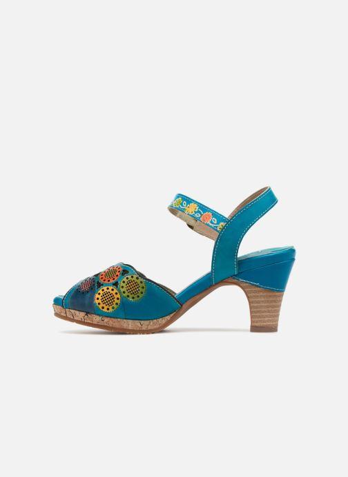 Sandales et nu-pieds Laura Vita Danielle03 Bleu vue face