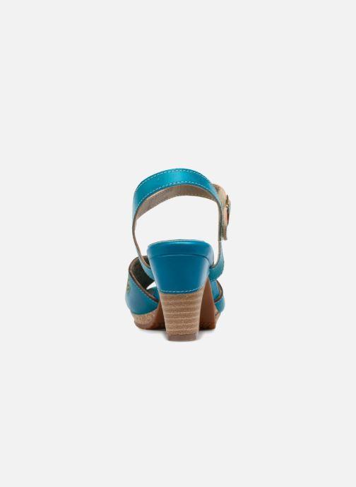 Sandales et nu-pieds Laura Vita Danielle03 Bleu vue droite