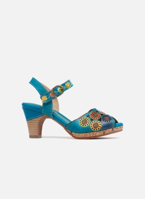 Sandales et nu-pieds Laura Vita Danielle03 Bleu vue derrière