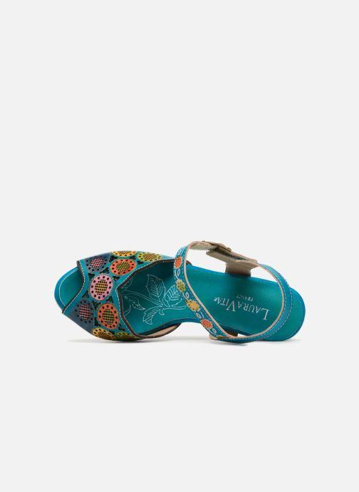 Sandales et nu-pieds Laura Vita Danielle03 Bleu vue gauche