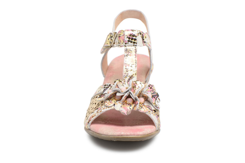Sandales et nu-pieds Laura Vita Bettino058 Or et bronze vue portées chaussures