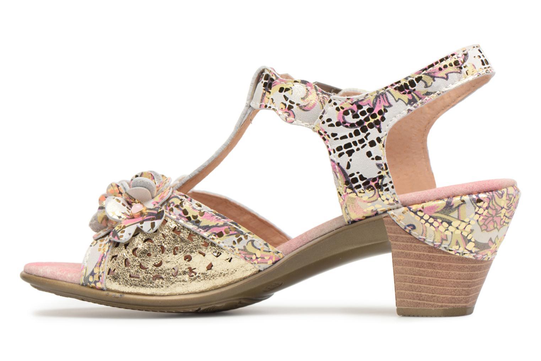 Sandales et nu-pieds Laura Vita Bettino058 Or et bronze vue face