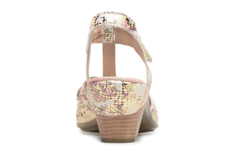 Sandales et nu-pieds Laura Vita Bettino058 Or et bronze vue droite