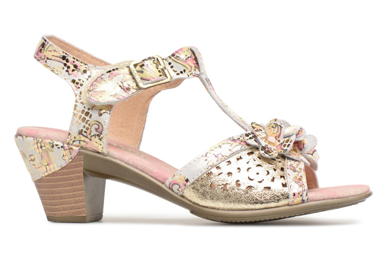 Sandales et nu-pieds Laura Vita Bettino058 Or et bronze vue derrière
