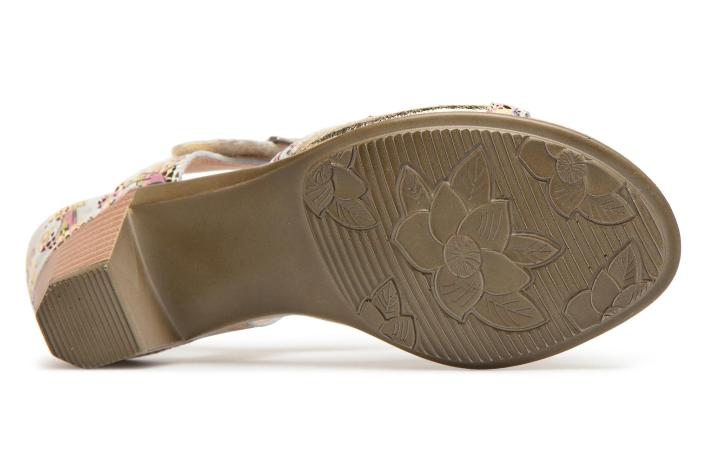 Sandales et nu-pieds Laura Vita Bettino058 Or et bronze vue haut