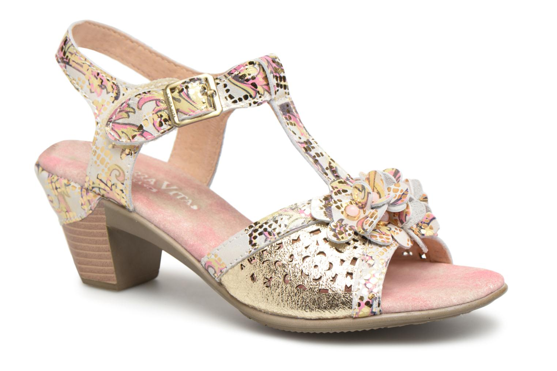 Sandales et nu-pieds Laura Vita Bettino058 Or et bronze vue détail/paire
