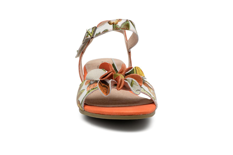 Sandales et nu-pieds Laura Vita Dune04 Orange vue portées chaussures