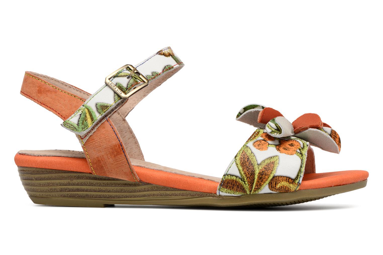 Sandales et nu-pieds Laura Vita Dune04 Orange vue derrière