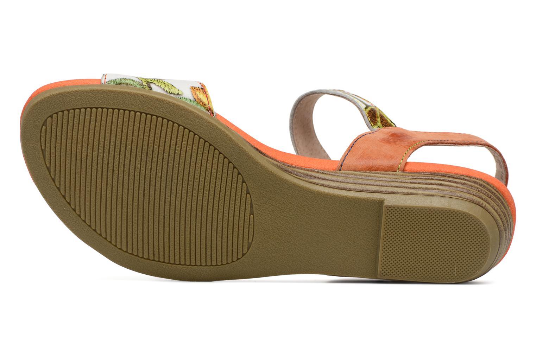 Sandales et nu-pieds Laura Vita Dune04 Orange vue haut
