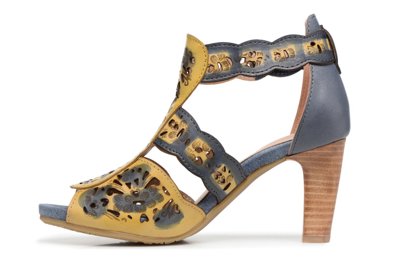 Sandales et nu-pieds Laura Vita Albane 128 Bleu vue face