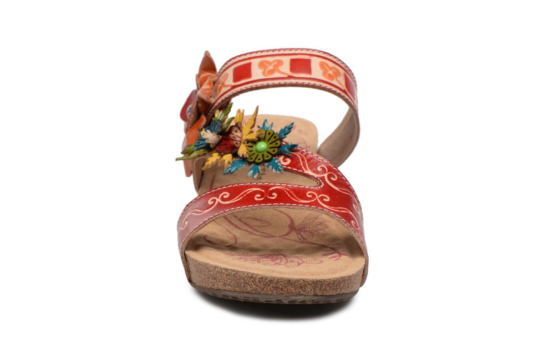 Mules et sabots Laura Vita Bingo01 Multicolore vue portées chaussures