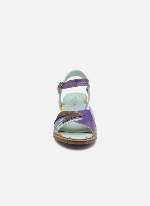 Sandales et nu-pieds Laura Vita Diego01 Multicolore vue portées chaussures
