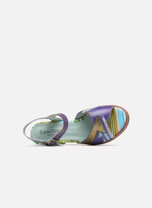 Sandales et nu-pieds Laura Vita Diego01 Multicolore vue gauche