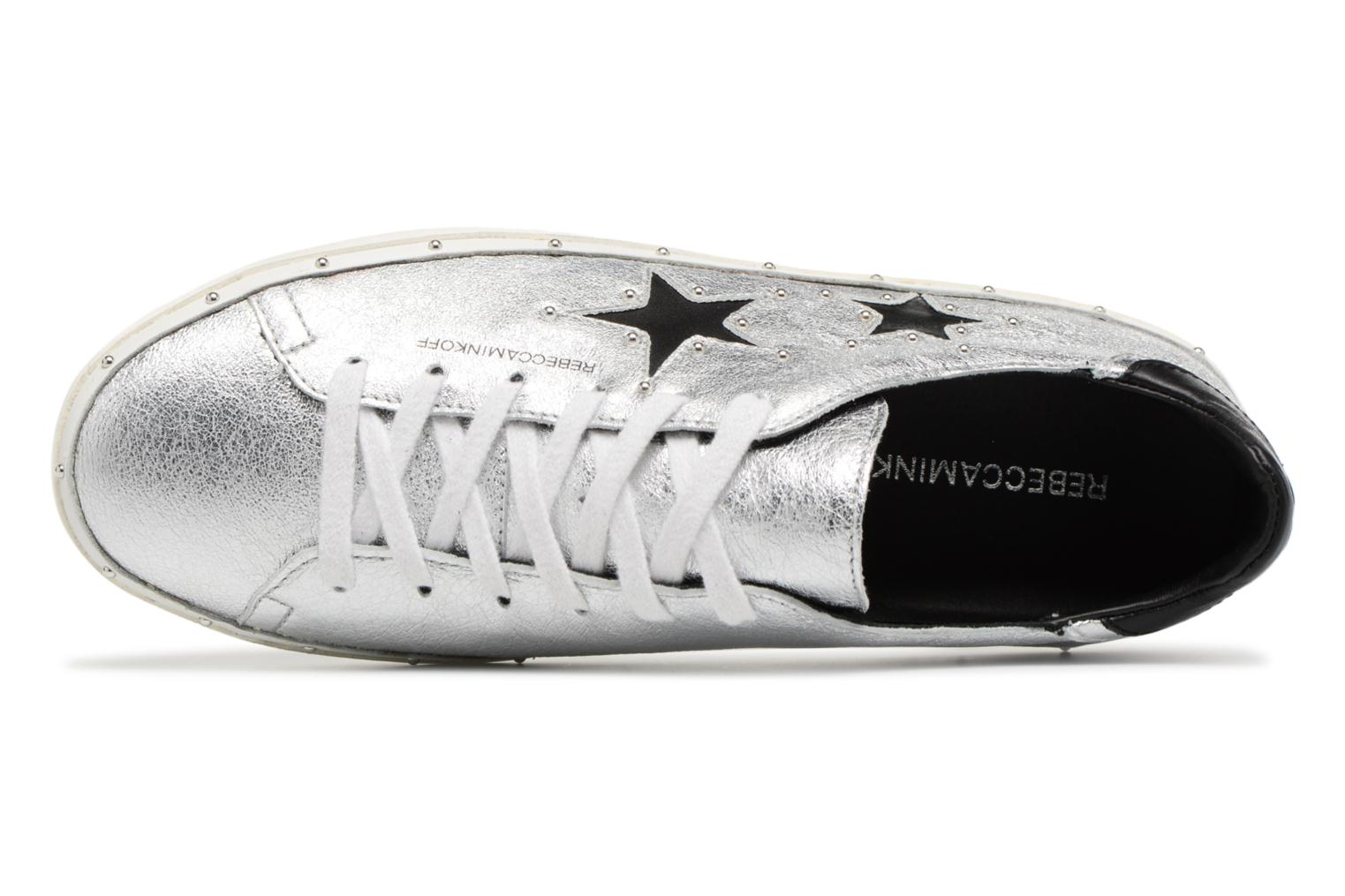 Trainers Rebecca Minkoff Michell Silver view from the left