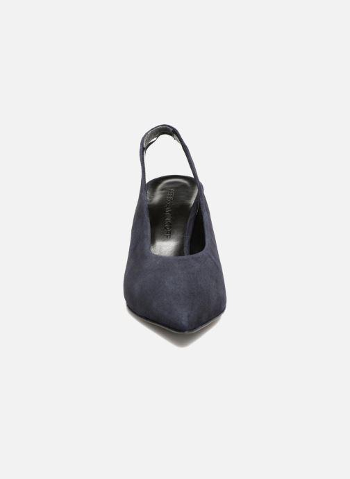Escarpins Rebecca Minkoff Simona Bleu vue portées chaussures