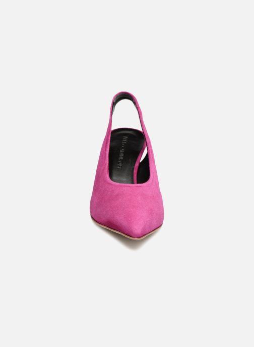 Høje hæle Rebecca Minkoff Simona Pink se skoene på