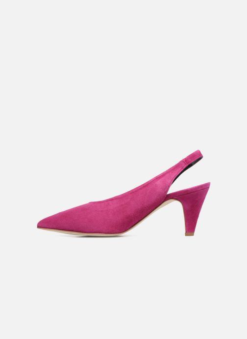 Zapatos de tacón Rebecca Minkoff Simona Rosa vista de frente