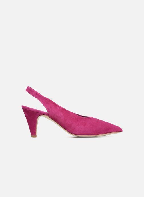 Zapatos de tacón Rebecca Minkoff Simona Rosa vistra trasera