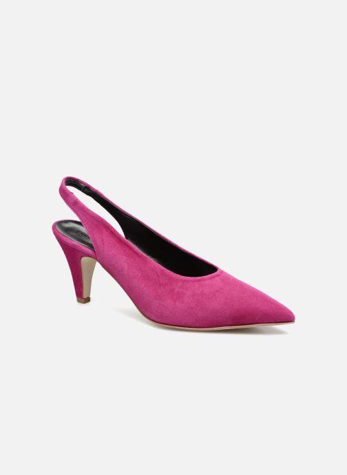 Høje hæle Rebecca Minkoff Simona Pink detaljeret billede af skoene