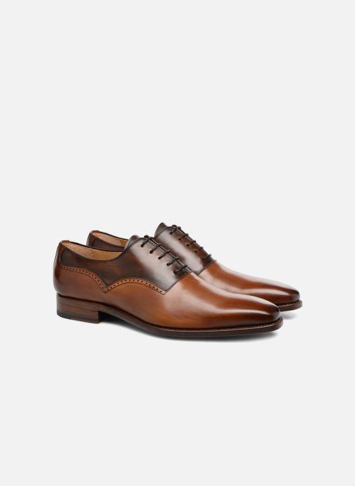 Zapatos con cordones Marvin&Co Luxe Westminster - Cousu Goodyear Marrón vista 3/4