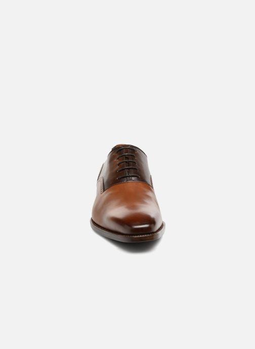 Zapatos con cordones Marvin&Co Luxe Westminster - Cousu Goodyear Marrón vista del modelo