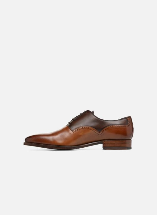 Chaussures à lacets Marvin&Co Luxe Westminster - Cousu Goodyear Marron vue face