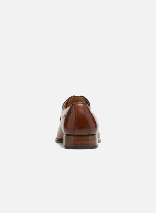 Zapatos con cordones Marvin&Co Luxe Westminster - Cousu Goodyear Marrón vista lateral derecha