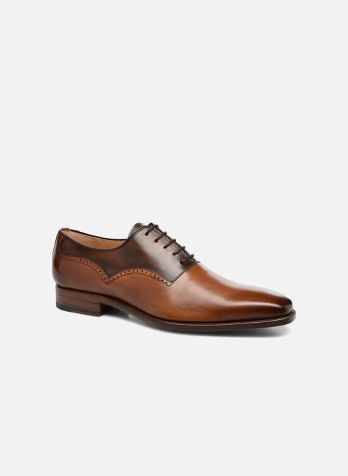 Lace-up shoes Marvin&Co Luxe Westminster - Cousu Goodyear Brown detailed view/ Pair view