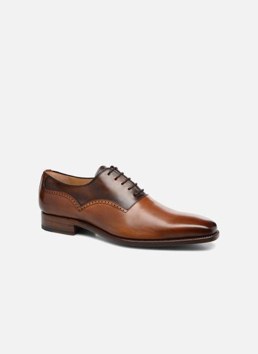 Zapatos con cordones Marvin&Co Luxe Westminster - Cousu Goodyear Marrón vista de detalle / par