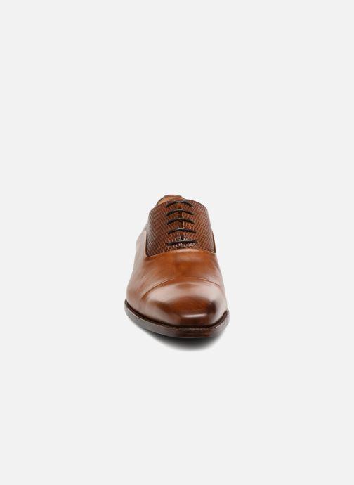 Schnürschuhe Marvin&Co Luxe Warwick - Cousu Goodyear braun schuhe getragen