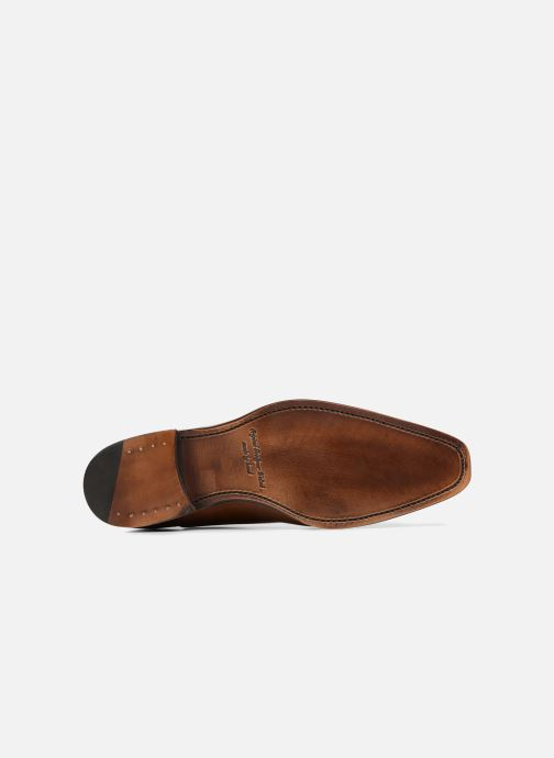 Chaussures à lacets Marvin&Co Luxe Warwick - Cousu Goodyear Marron vue haut