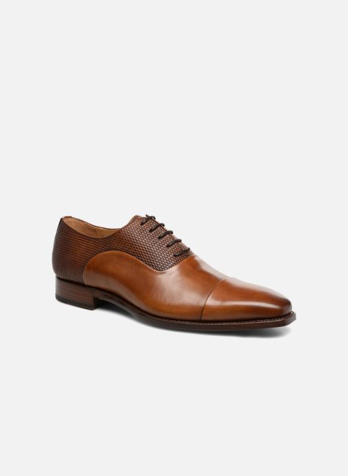 Lace-up shoes Marvin&Co Luxe Warwick - Cousu Goodyear Brown detailed view/ Pair view