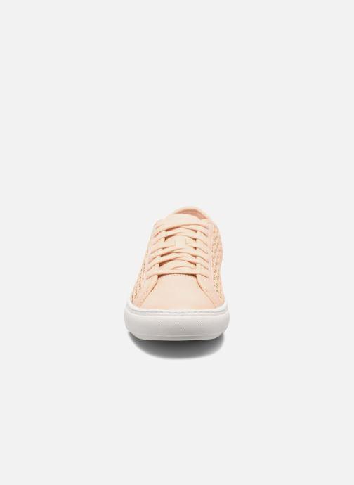Sneakers Le Coq Sportif Jane Woven Pink se skoene på