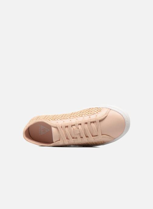 Sneakers Le Coq Sportif Jane Woven Rosa immagine sinistra