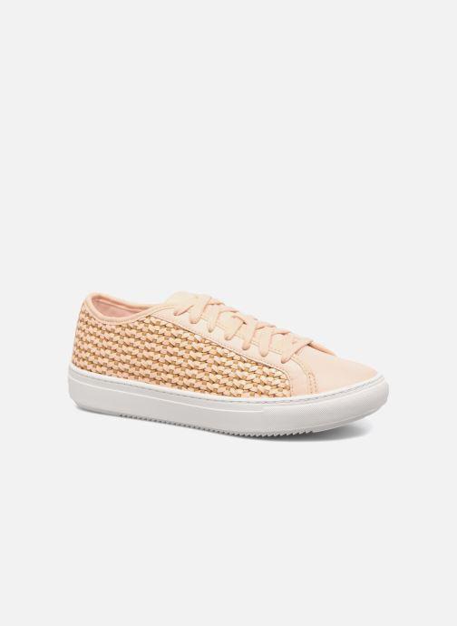 Sneakers Le Coq Sportif Jane Woven Pink detaljeret billede af skoene