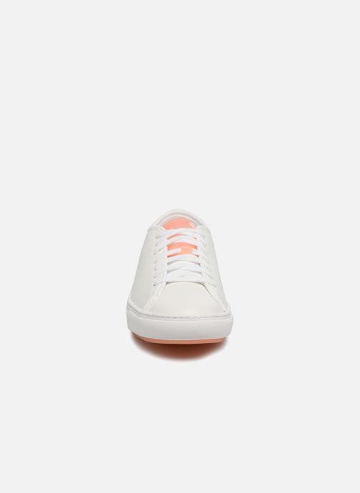 Baskets Le Coq Sportif Jane Leather Blanc vue portées chaussures